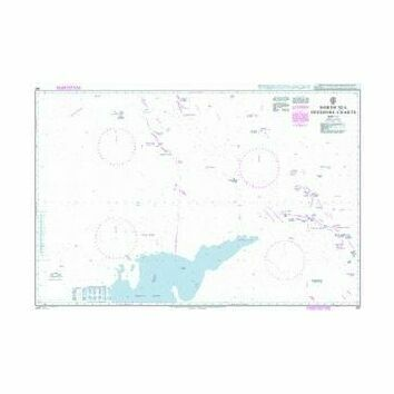 267 North Sea Offshore Charts Sheet 10 Admiralty Chart