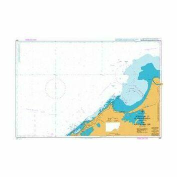 2681 Approaches to El Iskandariya (Alexandria) and Khalig Abu Qir Admiralty Chart