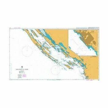 2711 Rogoznica to Zadar Admiralty Chart
