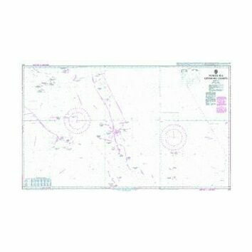 272 North Sea Offshore ChartsSheet 8 Admiralty Chart