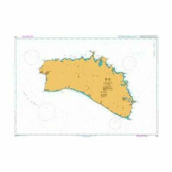 2761 Menorca Admiralty Chart
