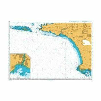 2819 Chaussee de Sein to Pointe de Penmarc'h Admiralty Chart
