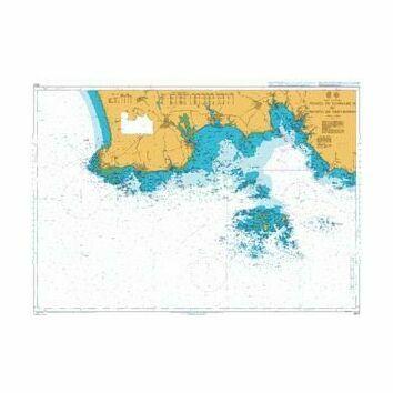 2820 Pointe de Penmarc'h to Pointe de Trevignon Admiralty Chart