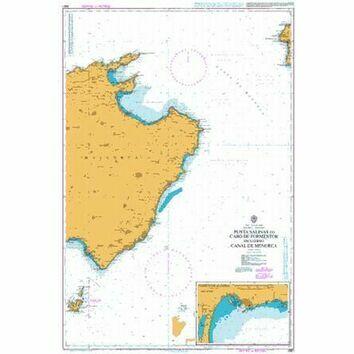 2831 East Mallorca Admiralty Chart