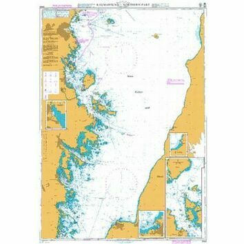2844 Baltic Sea. Sweden - Kalmarsund  - Northern part Admiralty Chart
