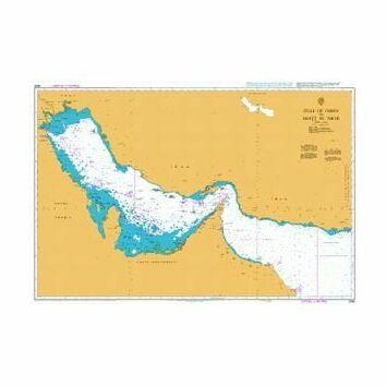 2858 Gulf of Oman to Shatt al `Arab Admiralty Chart