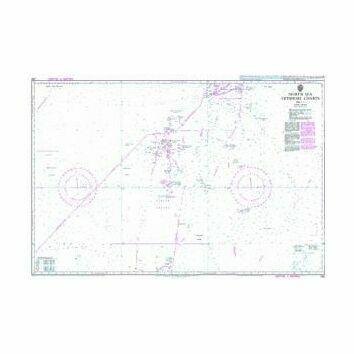 292 North Sea Offshore ChartsSheet 3 Admiralty Chart