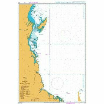 2929 Tanzania, Mtwara to Mafia Island Admiralty Chart