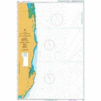 2931 Baia de Inhambane to Cabo de Sao Sebastiao Admiralty Chart