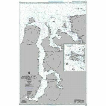 2684 Kara Sea Southern Part Admiralty Chart