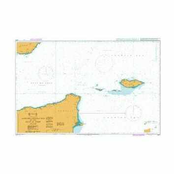 2970 Eastern Approaches to the Gulf of Aden Admiralty Chart