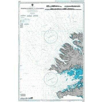 2976 Snaefellsjokull to Straumnes Admiralty Chart