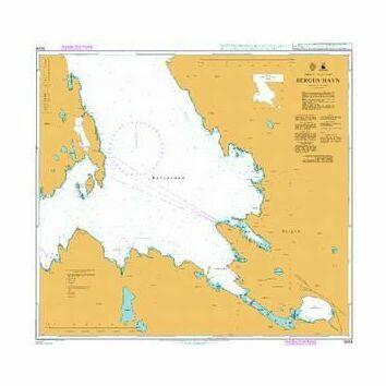 3008 Bergen and  Havn Admiralty Chart