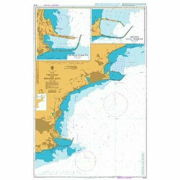 3102 Takoradi and Sekondi Bays Admiralty Chart