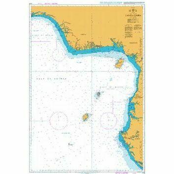 3118 Lagos to Gamba Admiralty Chart