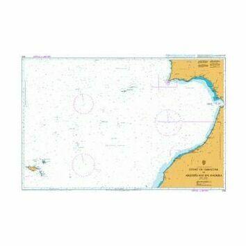 3132 Strait of Gibraltar to Arquipelago da Madeira Admiralty Chart