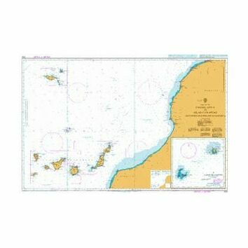 3133 Casablanca to Islas Canaries including Madeira Admiralty Chart