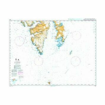 3137 Arctic Ocean, Svalbard, Southern Part Admiralty Chart