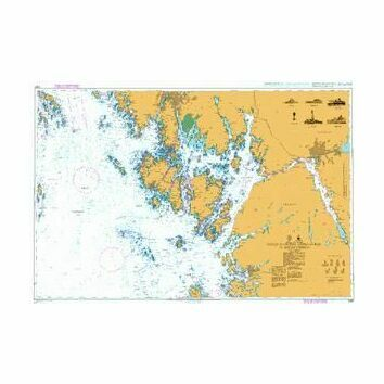 3160 South Eastern Approaches to Oslofjorden Admiralty Chart