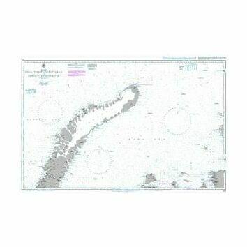 3182 Proliv Matochkin Shar to Ostrov Uyedineniya Admiralty Chart