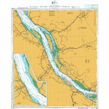 3267 The Elbe, Krautsand to Schulau Admiralty Chart