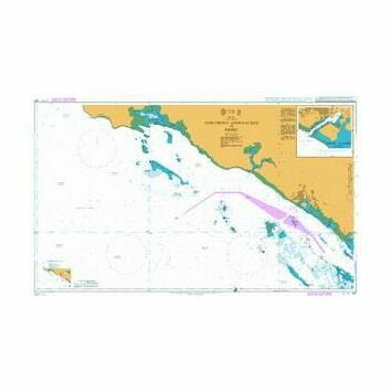 327 Northern Approaches to Yanbu\' Admiralty Chart