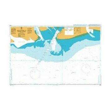 3286 Approaches to Bonny River Admiralty Chart