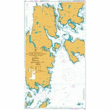 3292 E. Apps to Yell Sound, Colgrave Sound & Bluemull Admiralty Chart