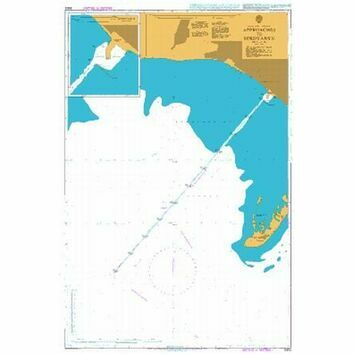 3302 Approaches to Berdyans\'k Admiralty Chart
