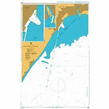 3303 Approaches to Mariupol\' Admiralty Chart