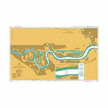 3337 River Thames - Margaret Ness to Tower Bridge Admiralty Chart