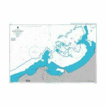 3350 Marsa el - Brega Admiralty Chart