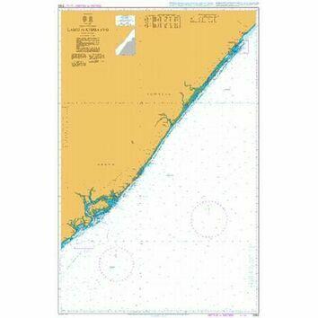 3362 Lamu to Kismaayo Admiralty Chart