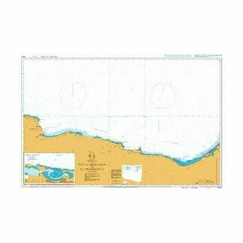 3400 Ras Al Muraysah to El Iskandariya Admiralty Chart