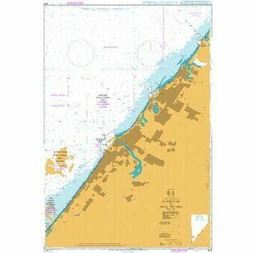 3412 Hamriyah to Mina\' Seyaha Admiralty Chart