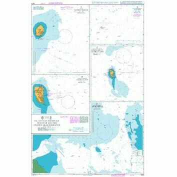 3413 Oil and Gas Terminals in Qatar and the United Arab Emirates Admiralty Chart