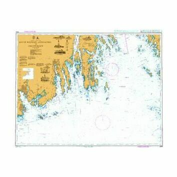 3499 South Western Approaches to Oslofjorden Admiralty Chart