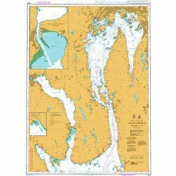 3501 Oslofjorden, Northern Part Admiralty Chart