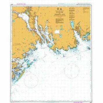 3502 Svenner to Jomfruland including Porsgrunn Admiralty Chart