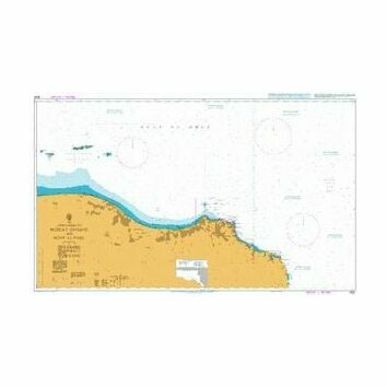 3522 Approaches to Masqat and Mina\' al Fahl Admiralty Chart