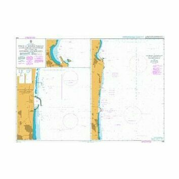 3526 Ports of Khawr Fakkan & Fujairah Admiralty Chart