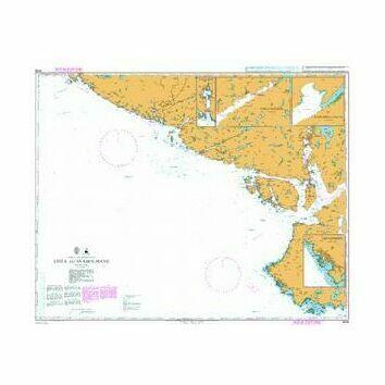 3536 Lista to Svaholmane Admiralty Chart