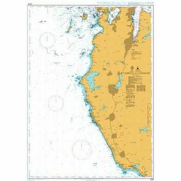 3538 Kvassheim to Tananger Admiralty Chart