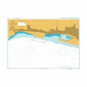 354 Port of Genova - West Part Admiralty Chart