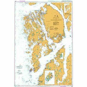 3547 Ryvarden to Selbjornsfjorden Admiralty Chart