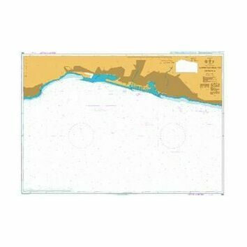356 Approaches to Genova Admiralty Chart