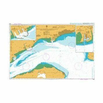 3599 Approaches to Bandar-e Shahid Bahonar and Bandar-e Shahid Rajai Admiralty Chart