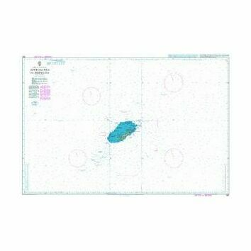 360 Approaches to Bermuda Admiralty Chart