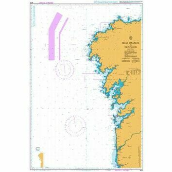 3633 Islas Sisargas to Montedor Admiralty Chart