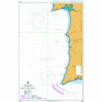 3636 Cabo Espichal to Cabo de Sao Vicente Admiralty Chart